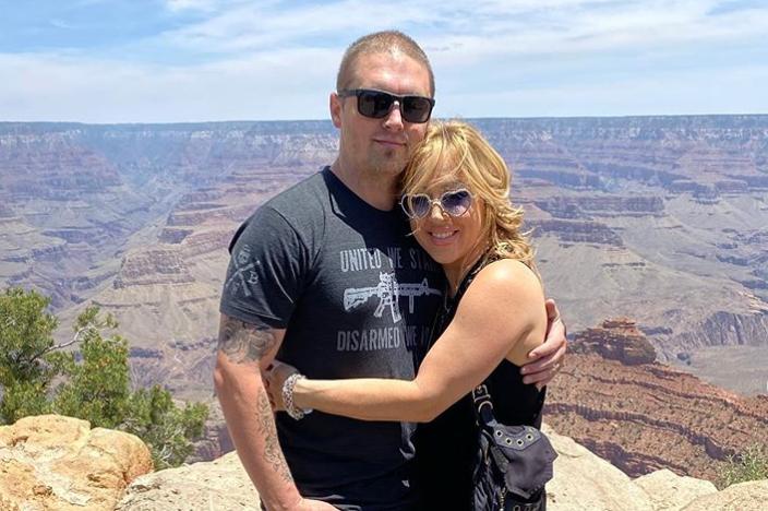 Lynsi and her husband Sean