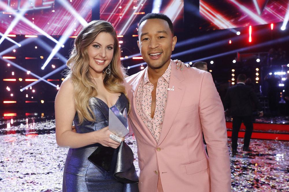 Maelyn Jarmon wins 'The Voice' : Team Legend