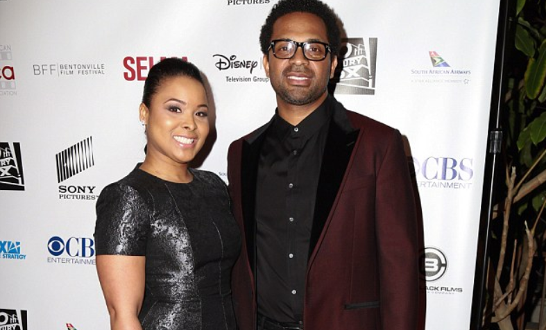 Mechelle and her ex-husband Mike Epps