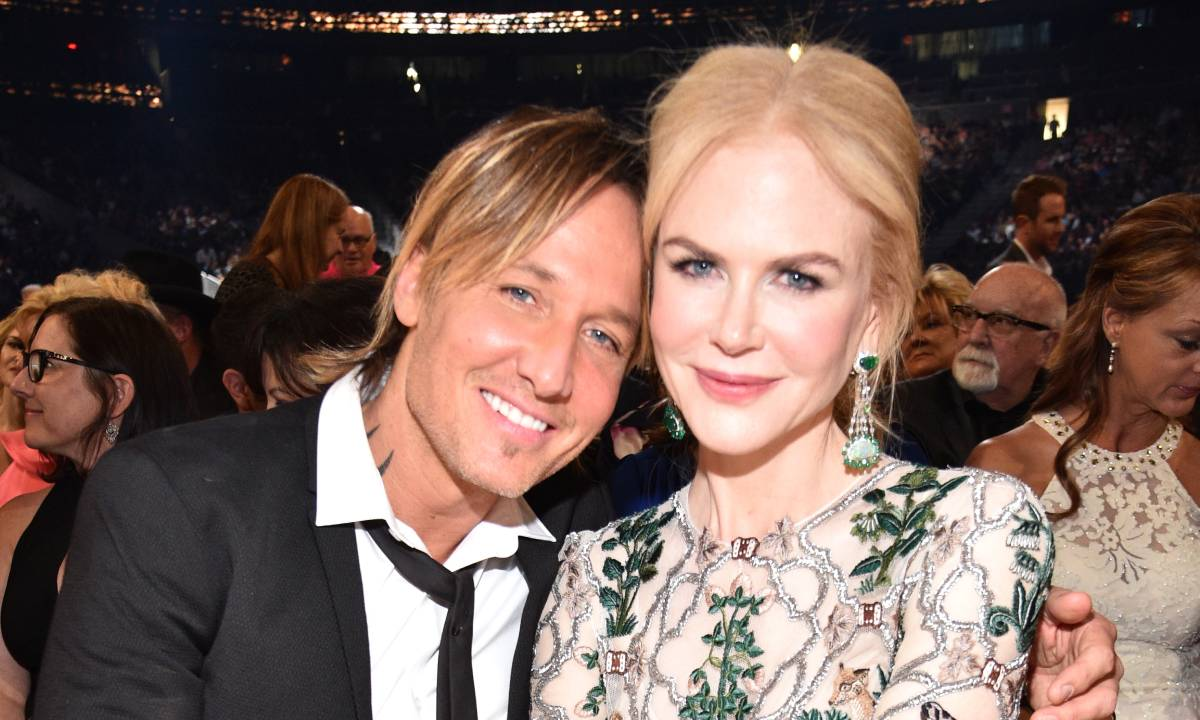 Kidman with her husband Keith Urban