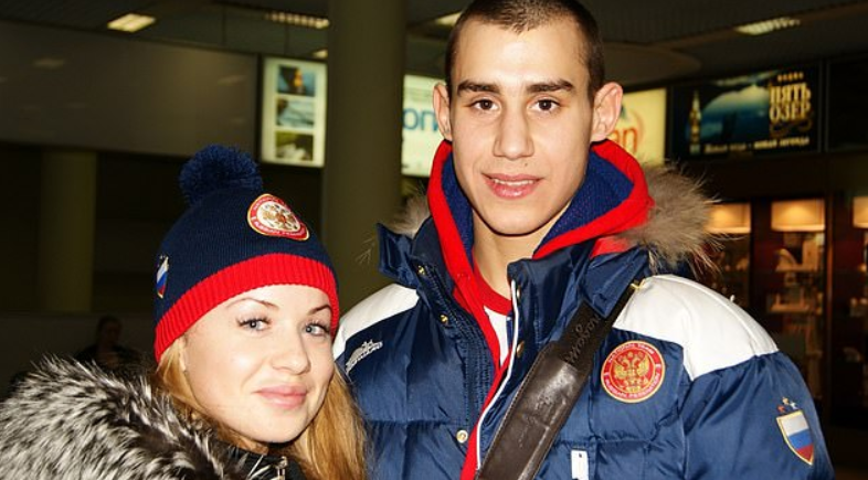 Elizaveta Apushkina and Maxim Dadashev