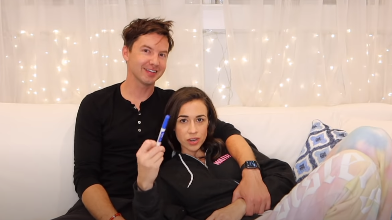 Erik Stocklin and Colleen Ballinger