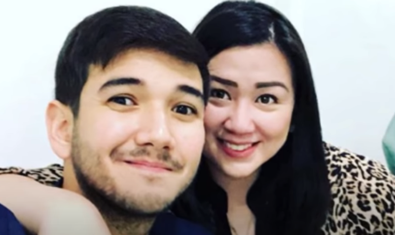 Katrina Farinas and her husband Matt Evans