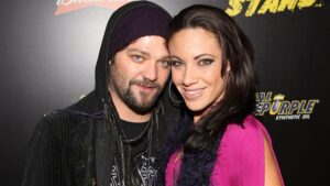 Nicole and Bam Margera