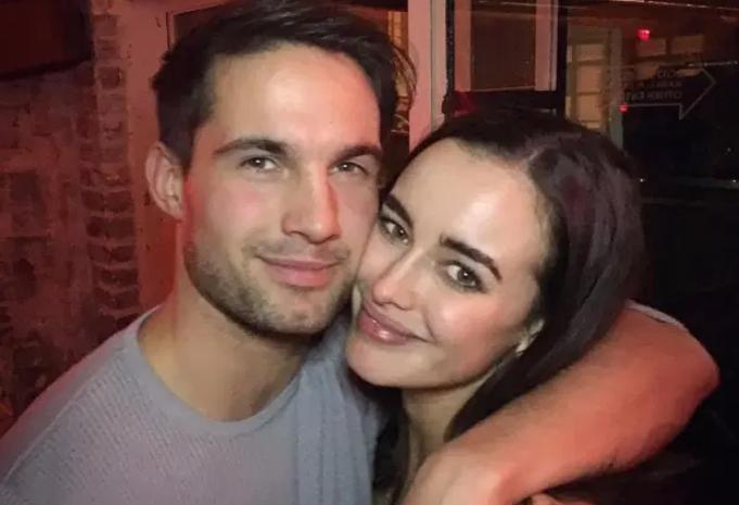 Stephens and ex-boyfriend Jamie