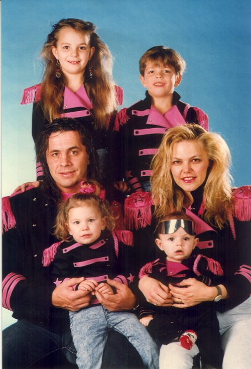 Hartand his wife with their kids