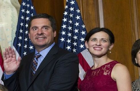 Nunes and her husband