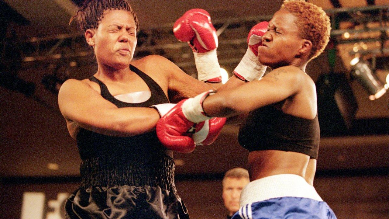 Freeda Foreman while she was a boxer