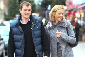Jamie Gilbert and ex-wife Rachael Riley