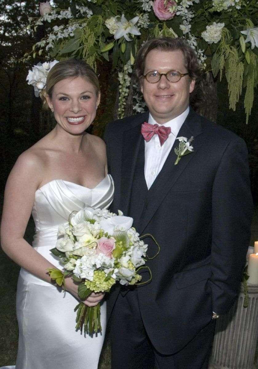 Jessica Dean in her wedding