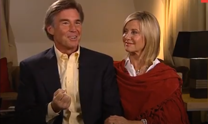 John Easterling and wife Olivia Newton-John