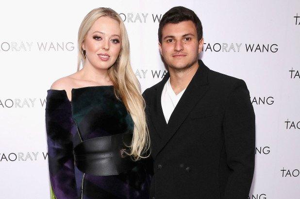 Michael Boulos and Tiffany Trump