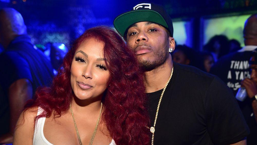 Shantel and boyfriend Nelly