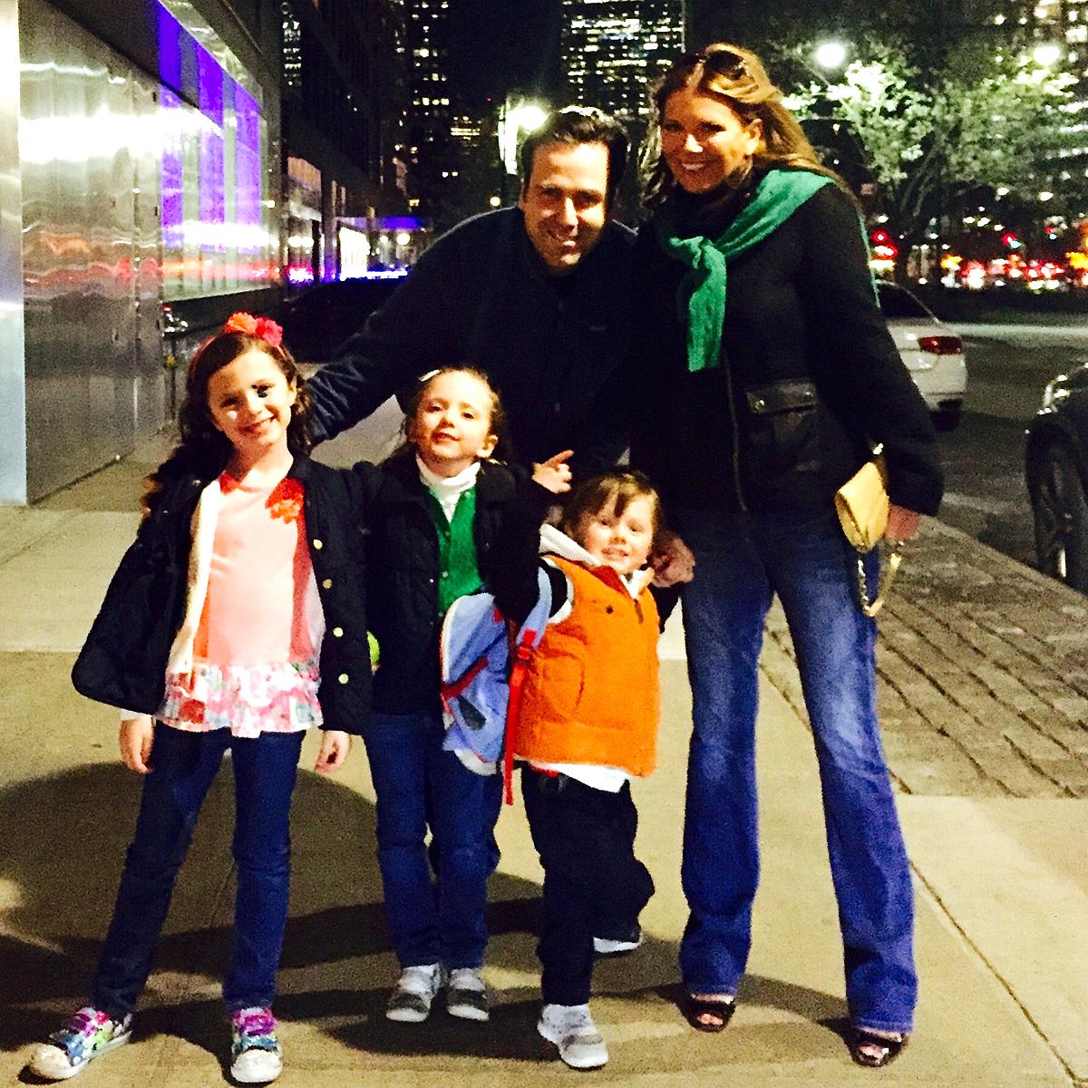 Regan's family