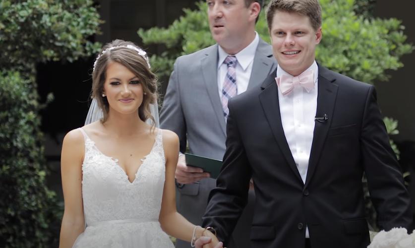 Caitlin Covington and Chris Dorsch