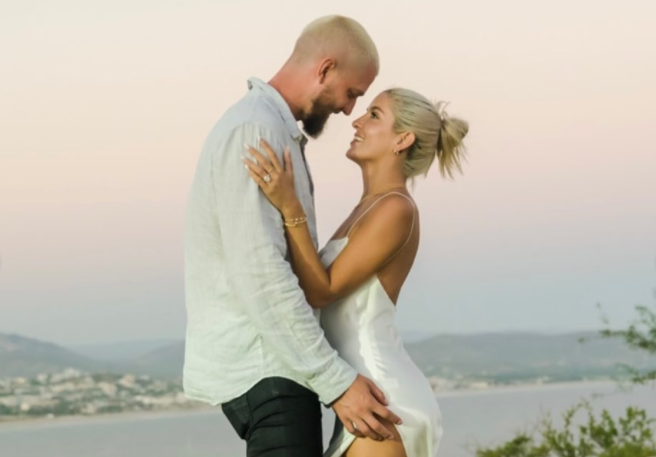 Chandler Parsons and Haylee Harrison