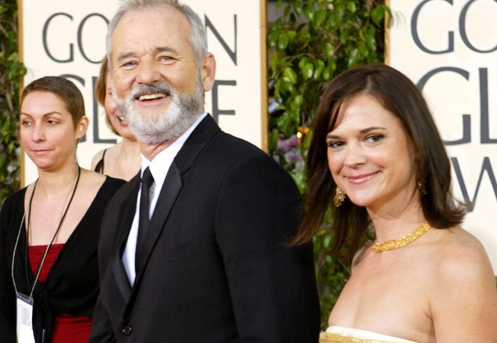 Jennifer Butler and Bill Murray