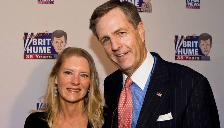 Kim Schiller Hume and Brit Hume