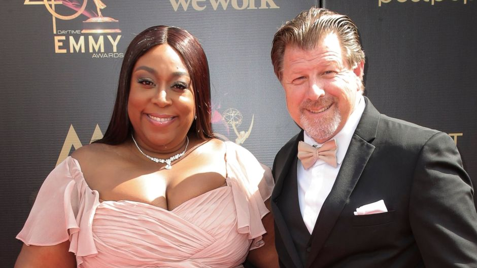 Loni Love and James Welsh