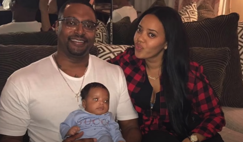 Sutton and ex-fiance Angela Simmons
