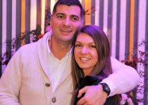 Toni Iuruc and Simona Halep