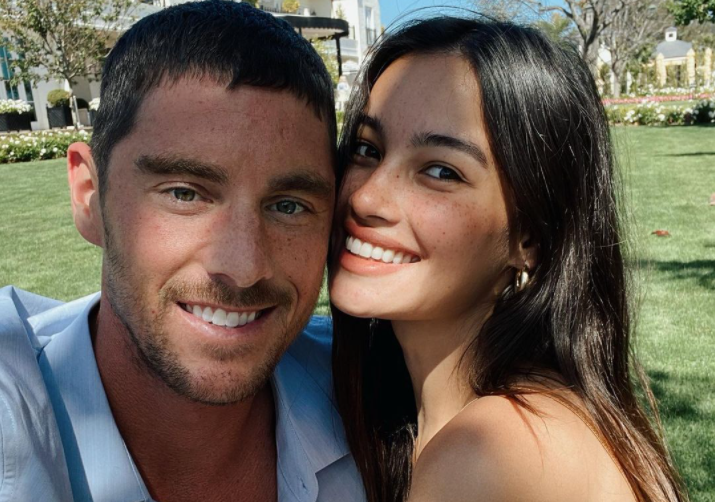 Kelsey Merritt and Conor Dwyer