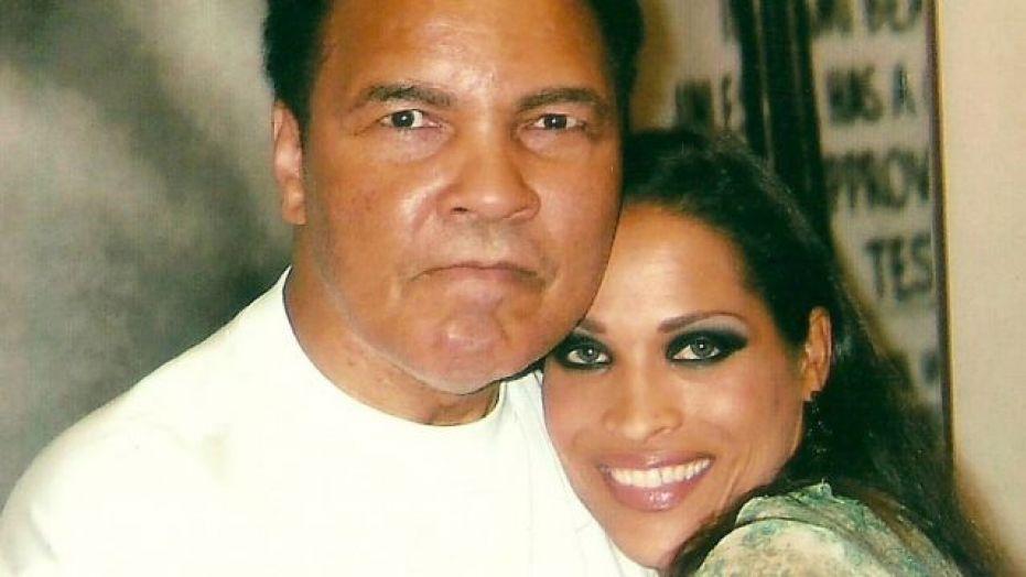 Rasheda Ai and her father Muhammad Ali