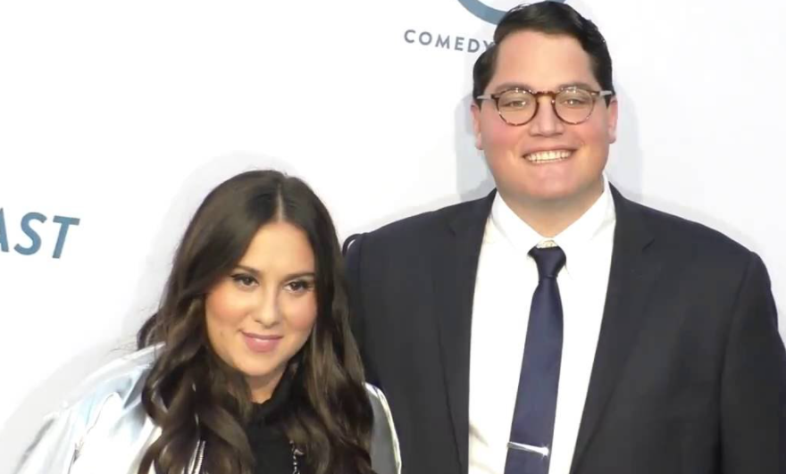 Claudia Oshry and her husband Ben Soffer