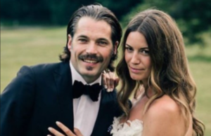 Linzey and husband Tim Rozon