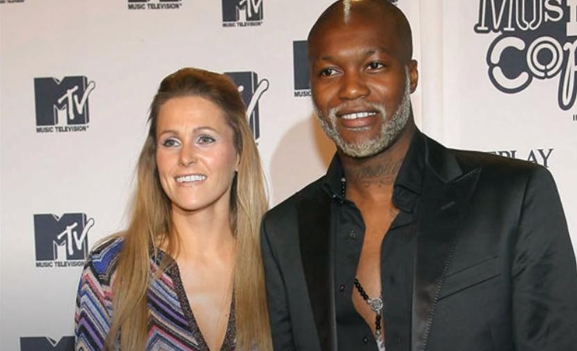 Jude Littler and her ex-husband Djibril Cisse