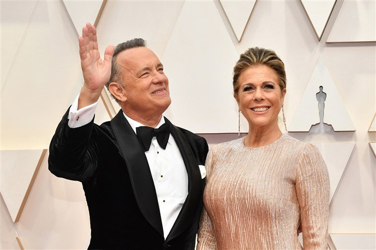Rita Wilson and husband Tom Hanks