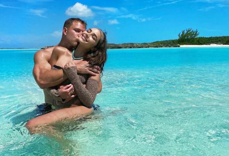 Olivia Culpo and boyfriend Christian McCaffrey