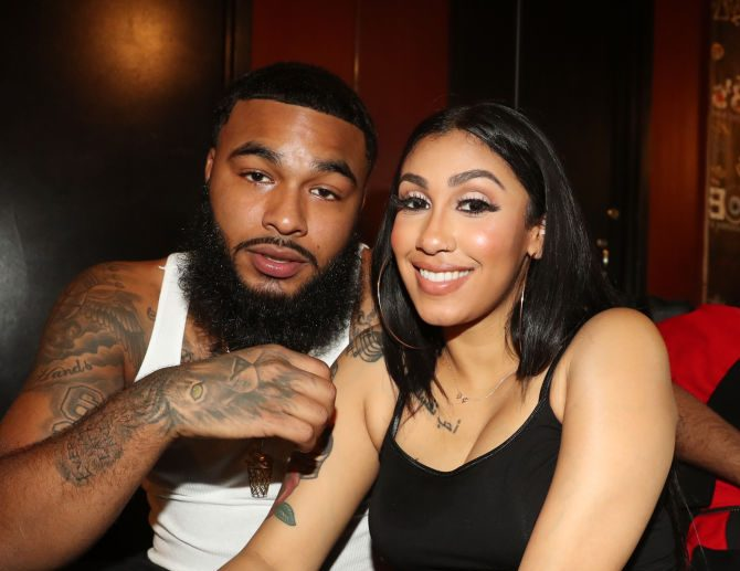 Queen Naija and Clarence White