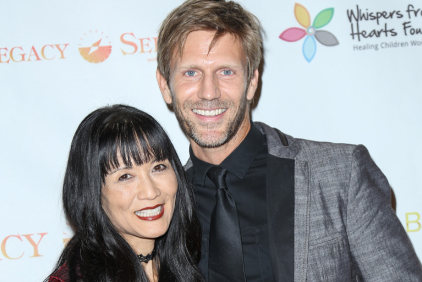Suzanne Whang and partner Jeff Vezain