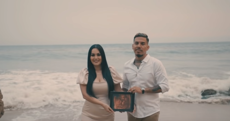 Candy Aguilar and her husband