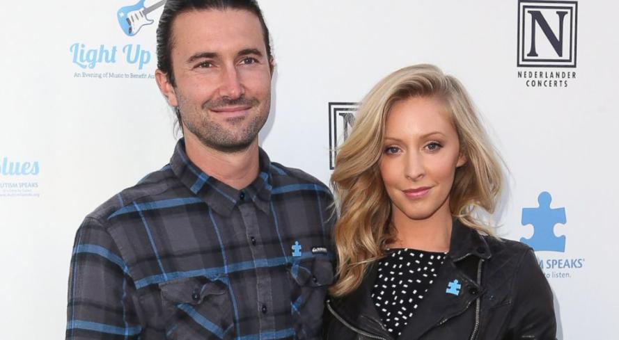 Leah Felder and ex-husband Brandon Jenner