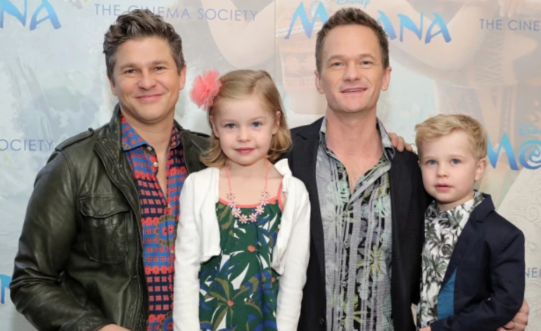 Neil Patrick Harris and family