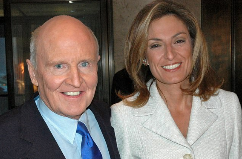 Suzy Welch and Jack Welch