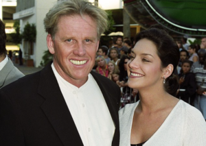 Tiani Warden and Gary Busey