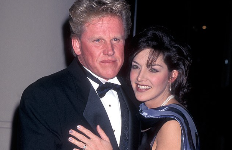 Tiani Warden and her ex-husband Gary Busey