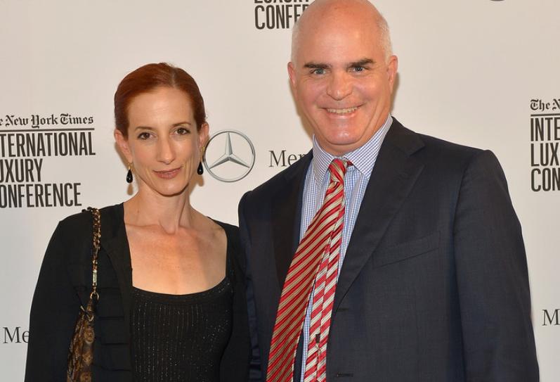 Vanessa Friedman and her husband J. David Stewart