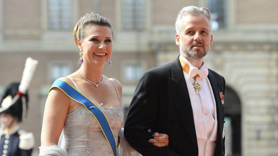 Ari Behn and ex-wife Princess Martha Louise