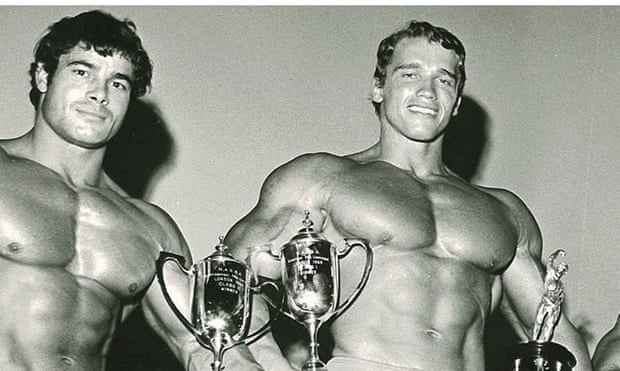 Franco and actor Arnold