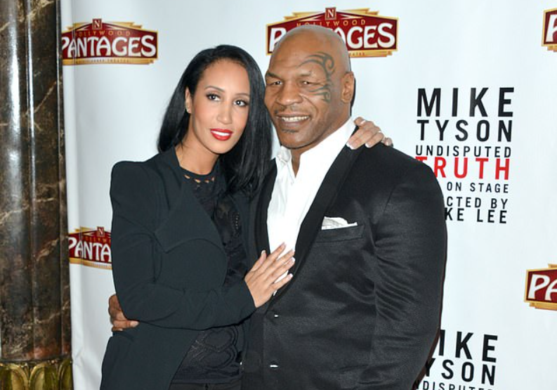 Mike Tyson and wife Kiki