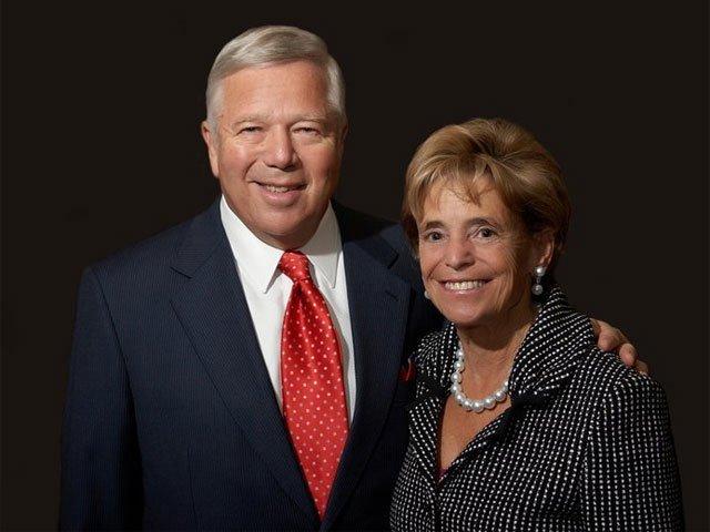 Robert Kraft and wife Myra Hiatt