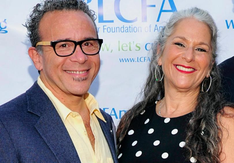 Marta Kauffman and ex-husband Michael Skloff
