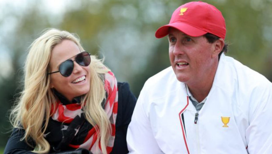 Amy and Phil Mickelson