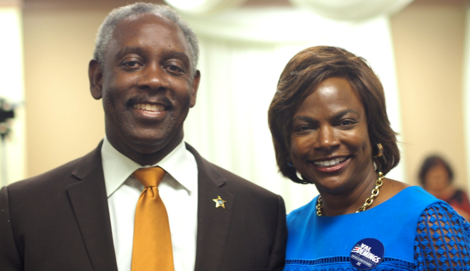 Jerry and Val Demings