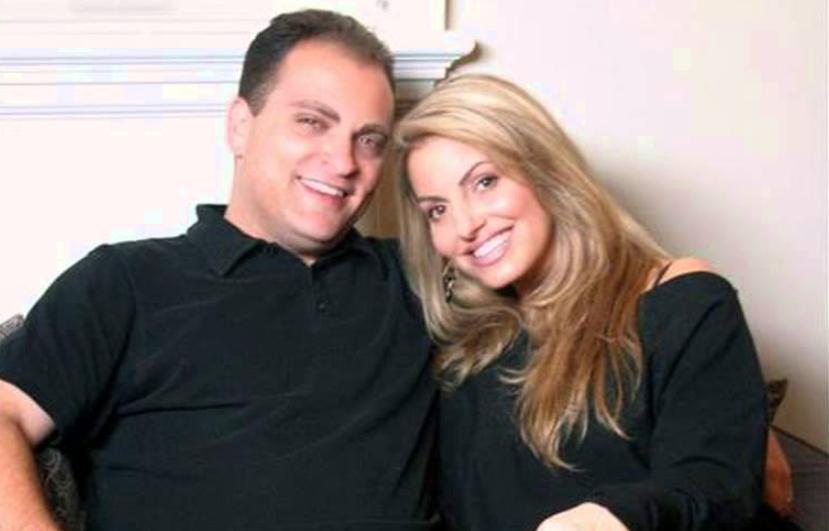 Trish Stratus and Ron Fisico