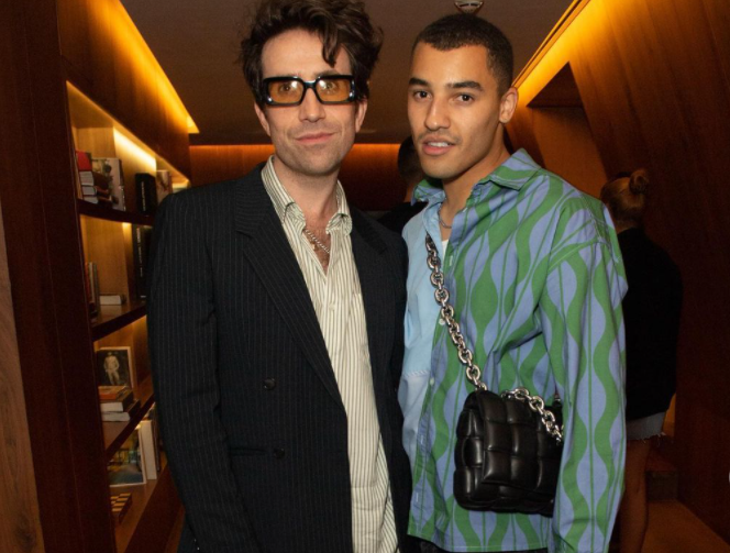 Nick Grimshaw and Meshach Henry